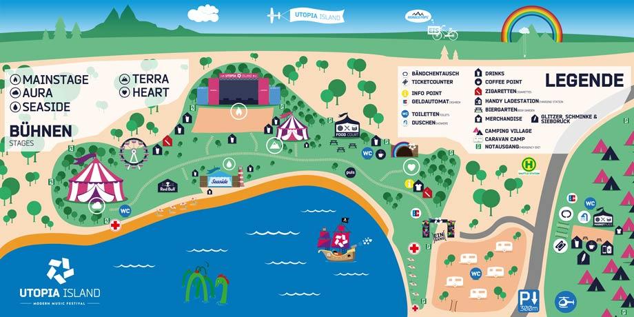 utopia Festivalmap